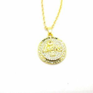 USA Los Angeles Lakers 2009 Pendant Necklace